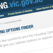 Housing Options Finder