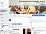 Youth Homelessness Matters Day - Facebook