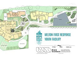 Melton First Response Youth Facility plans.