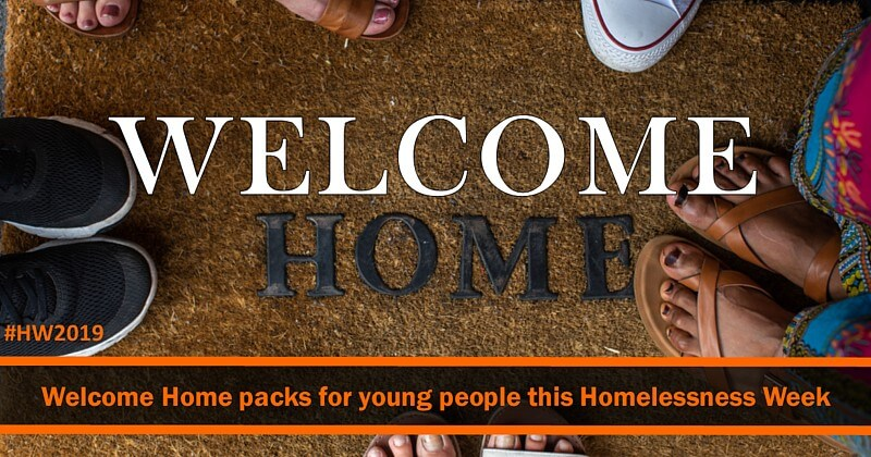 Donate a Welcome Home pack today