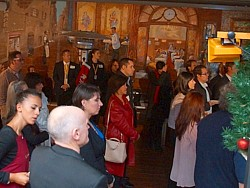 Attendees at event.