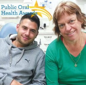 Nicolas and Cath at the Merri Community Health Services dental clinic, Brunswick
